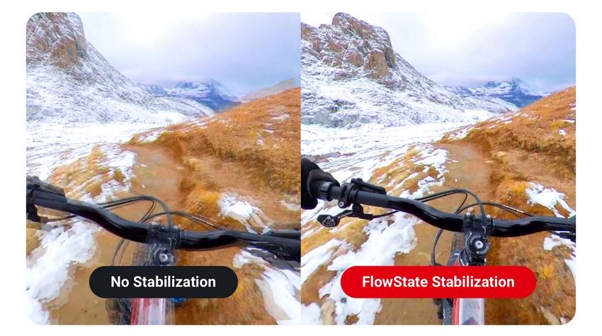 Stabilizácia obrazu Insta360 FlowState